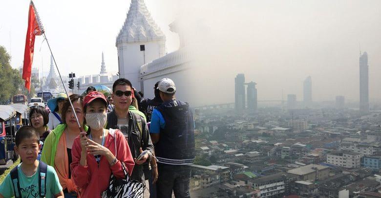 ฝุ่นละออง PM2.5 ทำนักท่องเที่ยวหาย 10 ล้านคน!   The Thaiger
