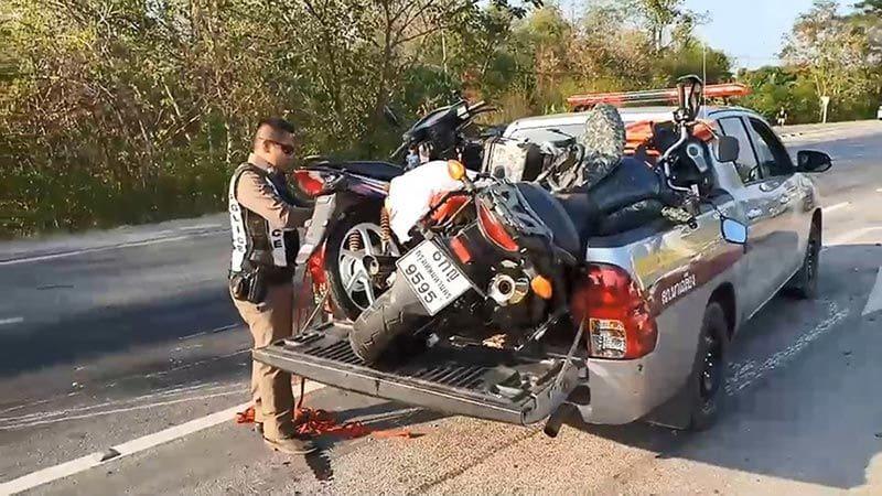 บิ๊กไบค์ซิ่งชนรถจักรยานยนต์ ตาเสียชีวิตสลด ยายนั่งมาด้วยบาดเจ็บสาหัส | News by The Thaiger