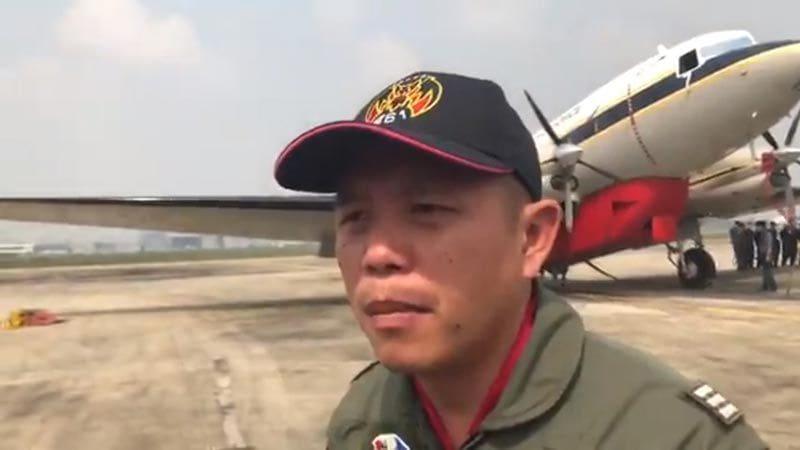 กองทัพอากาศ สั่งบิน BT-67 โปรยละอองน้ำเขตดอนเมือง-จตุจักร แก้วิกฤตฝุ่น PM 2.5 | News by The Thaiger