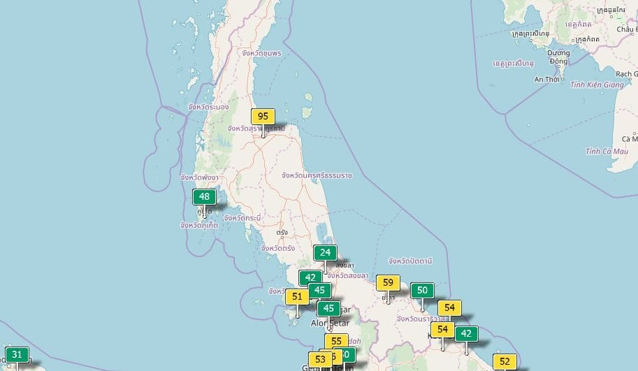 Air quality for Thailand – January 15   News by Thaiger