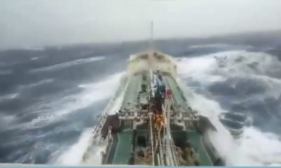 Thai oil ship battles with 'PABUK' off southern Vietnam – VIDEO | The Thaiger