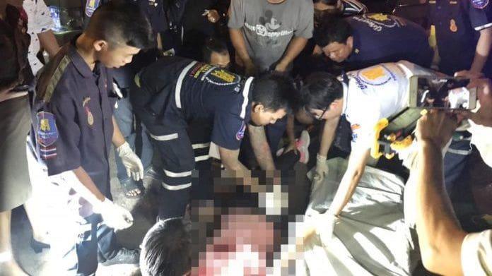 รักต้องฆ่า หนุ่มบุกยิงหัวแฟนเก่าตายคาที่ ก่อนยิงตัวตายตาม | The Thaiger