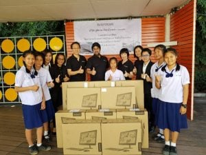 Company rolls out new computers for Chiang Mai school | News by The Thaiger