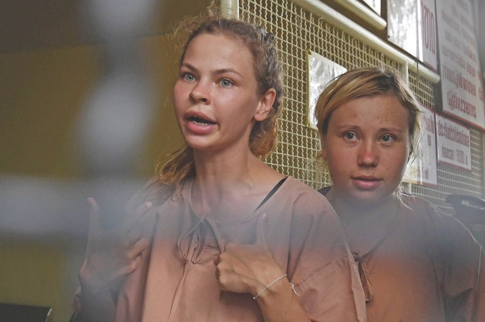 Sex training guru Anastasia and Russian compatriots on trial today in Bangkok | The Thaiger
