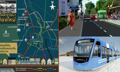 Eight year wait for Chiang Mai's proposed Light Rail | The Thaiger