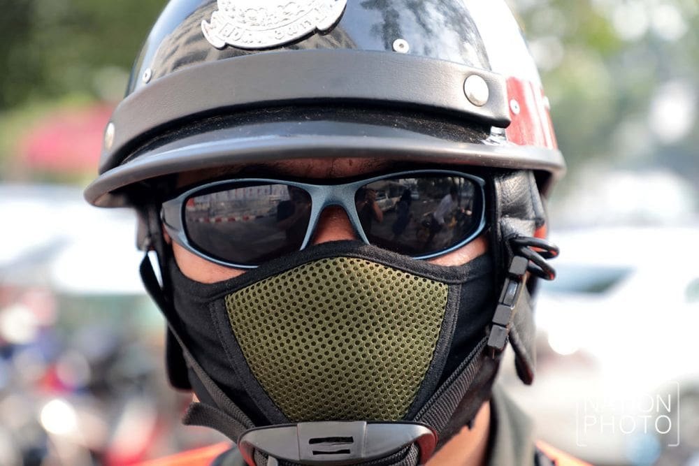 Face mask fashion as Bangkok batters poor air quality and smog | The Thaiger