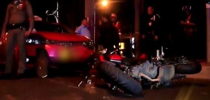 ฉุกถูกปาดหน้า 2 หนุ่มสุดเหี้ยม ไล่ชนคนขี่รถ จยย. จนตาย ลากศพกระทืบซ้ำ | The Thaiger