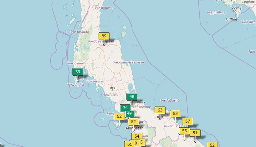 Air quality for Thailand - January 16   News by Thaiger