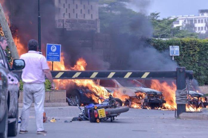 คนร้ายกราดยิงโรงแรมดุสิตธานี ที่เคนยา ตาย 15 คนไทยปลอดภัย | News by The Thaiger