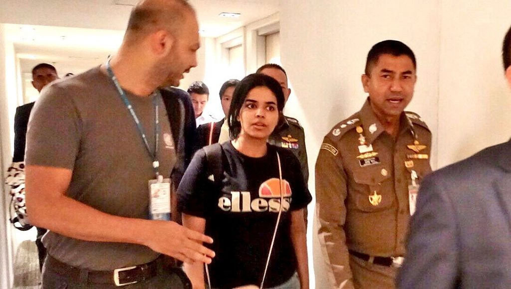 Saudi teenager allowed to stay in Thailand, for now   News by Thaiger