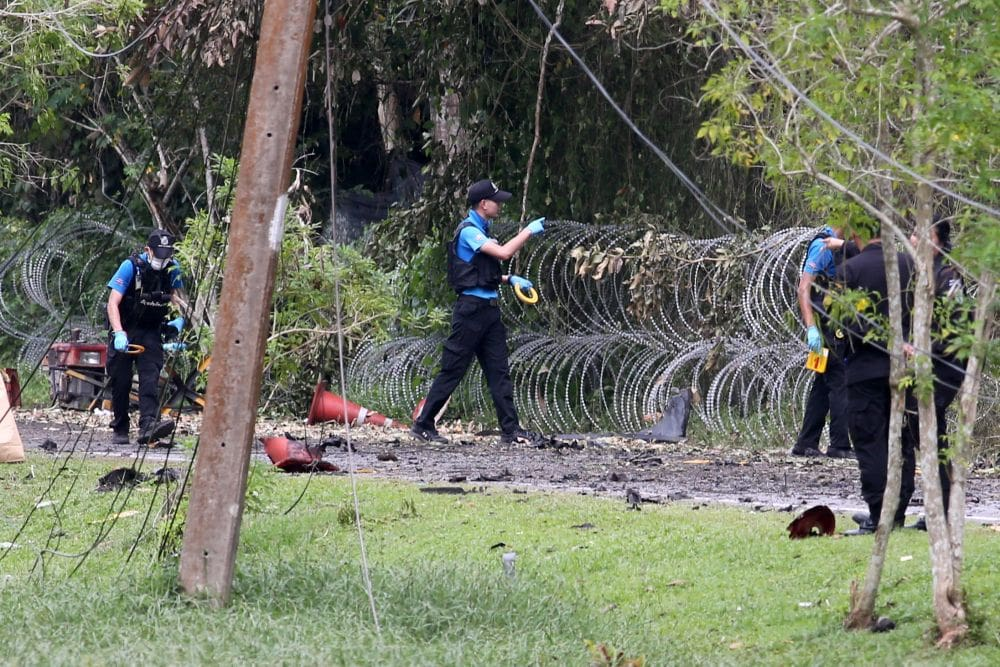 Suspects are denying involvement in Tuesday's Songkhla bomb attack | News by The Thaiger