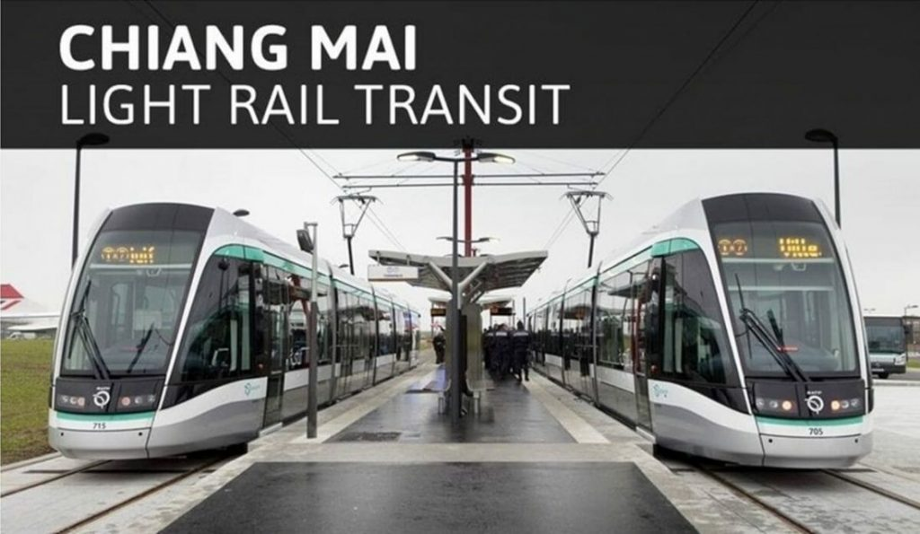 Eight year wait for Chiang Mai's proposed Light Rail | News by The Thaiger