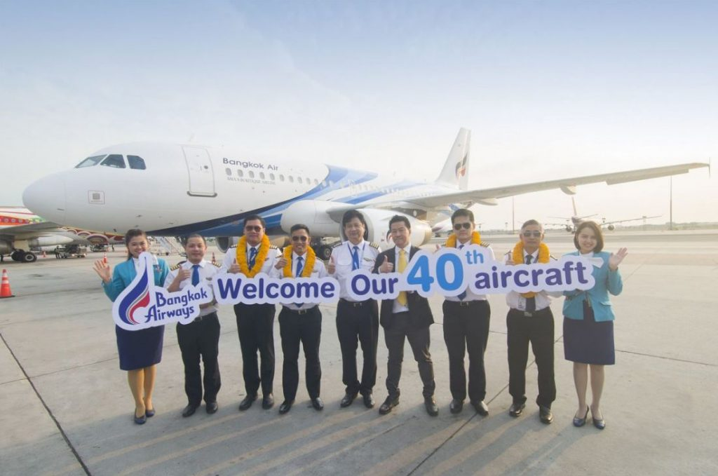 Bangkok Airways celebrates the arrival of its 40th aircraft | News by The Thaiger