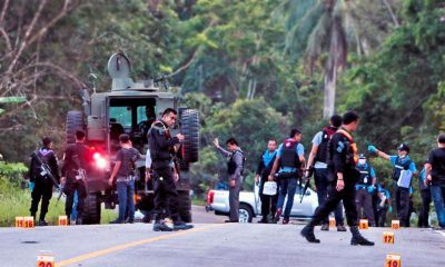Couple murdered in Yala. Police believe political motives.   The Thaiger