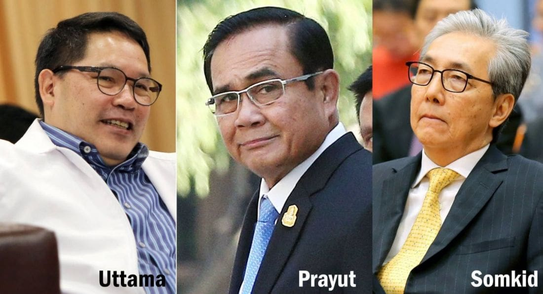 Palang Pracharat to nominate Prayut as candidate for PM after election | The Thaiger