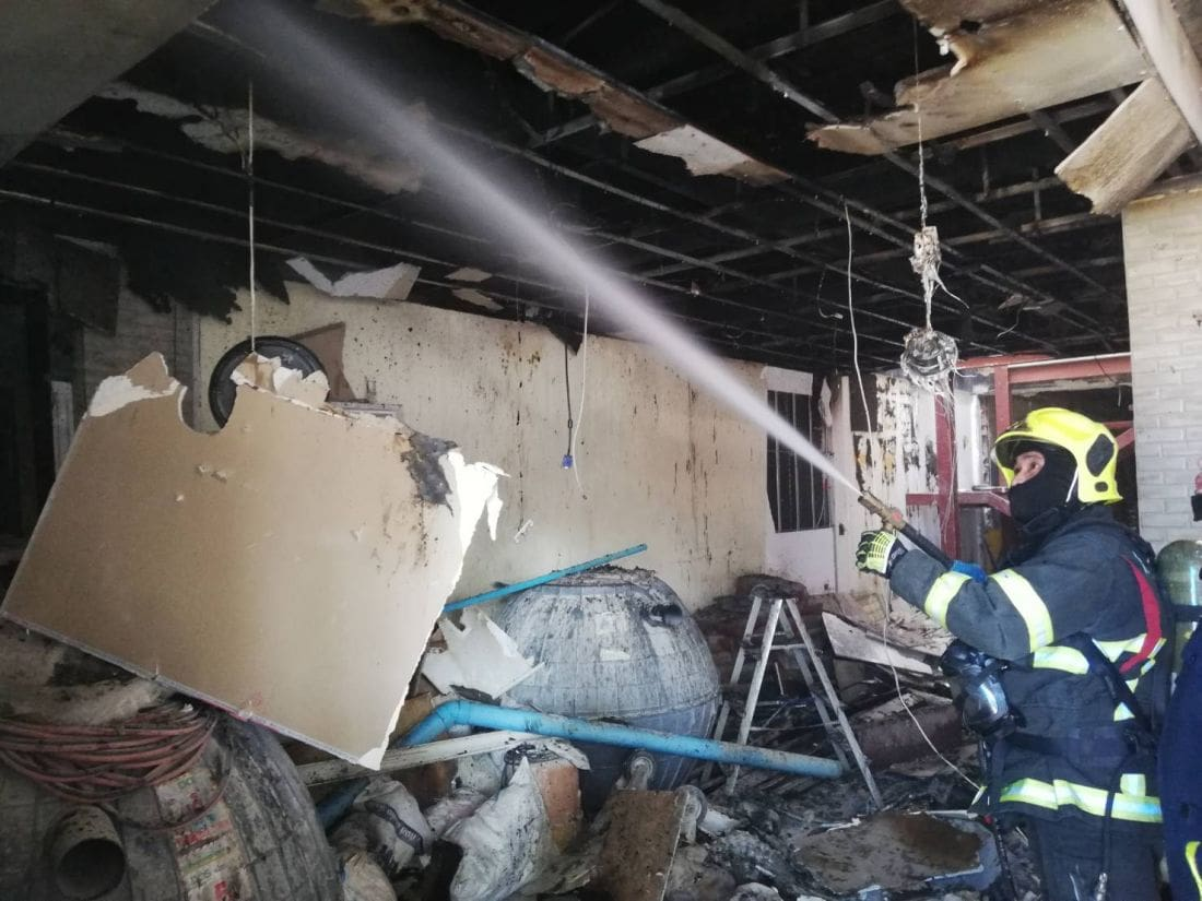 Fire damages house in Bangkok | The Thaiger