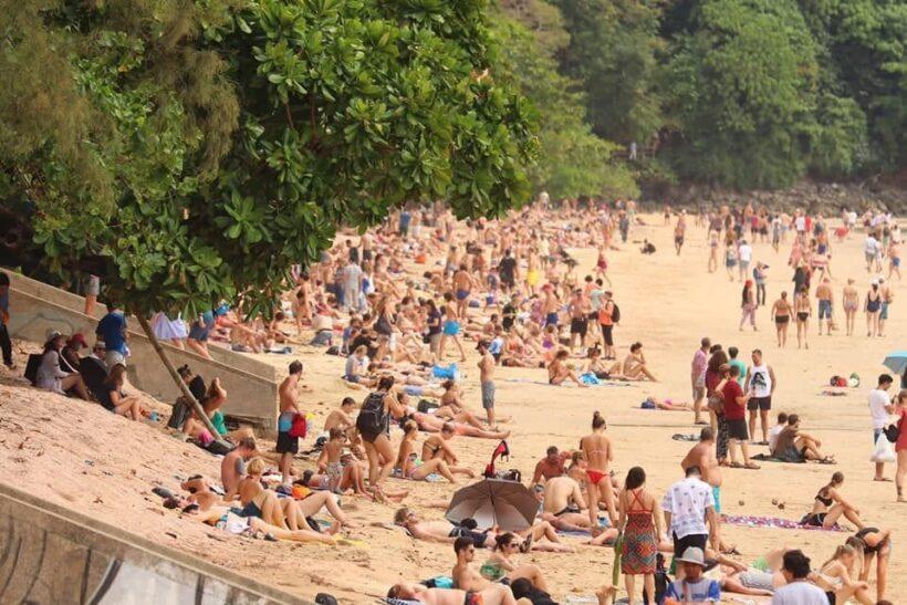 Tourists back on Ao Nang Beach | The Thaiger