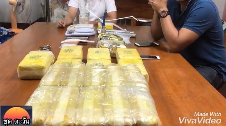 170K meth pills and 2 kg crystal meth seized in Hat Yai | News by The Thaiger
