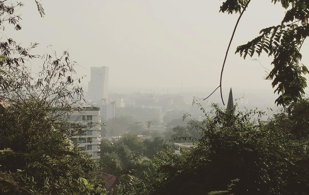 Pattaya air quality suffering as well | The Thaiger