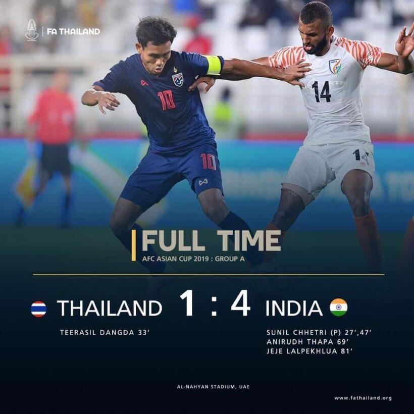 วงการฟุตบอลไทยในวันพ่ายแพ้   News by The Thaiger