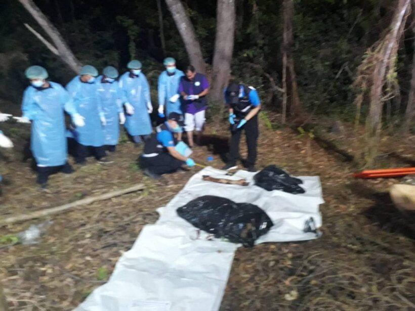 สยอง! ฆ่าหั่นศพใส่ถุงดำ หมาคาบขาไปแทะเล่น | News by The Thaiger