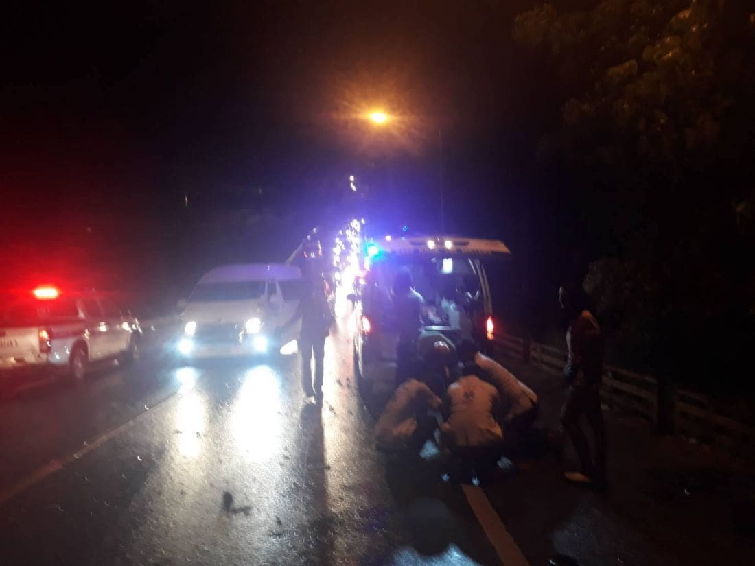 Motorbike rider dies in head-on between Patong and Kamala – VIDEO | The Thaiger