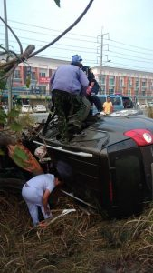 Woman badly injured in Rayong car accident | News by Thaiger