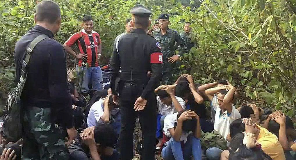 Burmese migrants, heading for Malaysia, stopped in Chumphon | News by The Thaiger