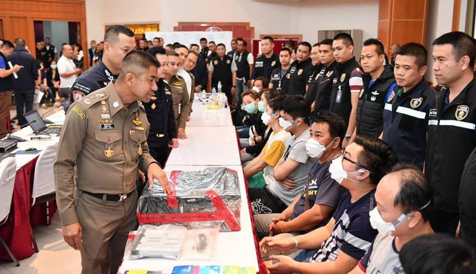 22 arrested over illegal gambling websites in Bangkok | News by The Thaiger