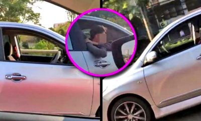 Don't drink and 'sleep' – Thai driver caught napping at the wheel | The Thaiger