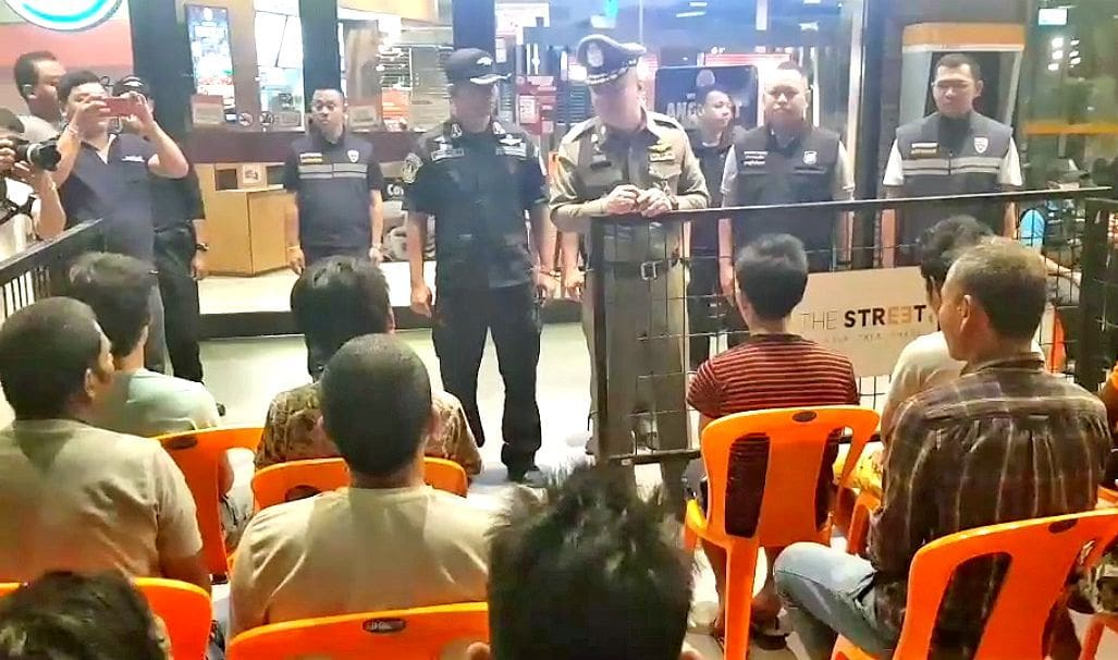 Round 'em up, ship 'em out – another 500 foreigners arrested in crackdown   The Thaiger