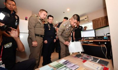 22 arrested over illegal gambling websites in Bangkok | The Thaiger