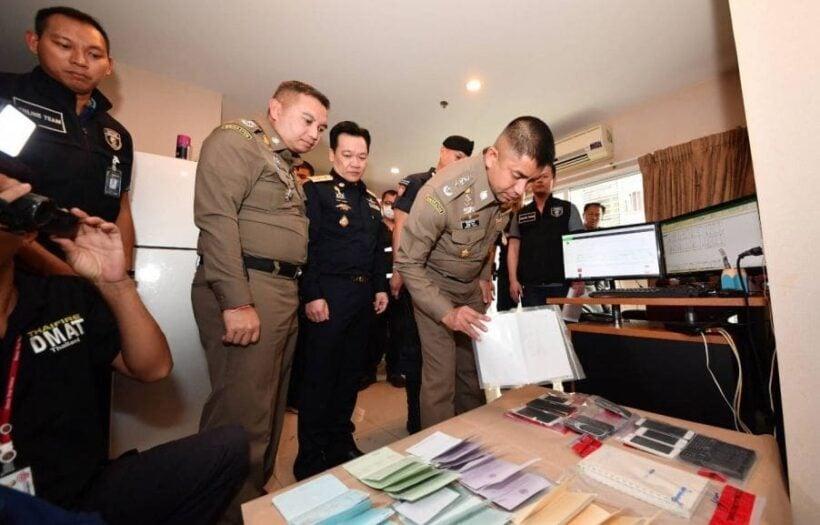 22 arrested over illegal gambling websites in Bangkok | The Thaiger
