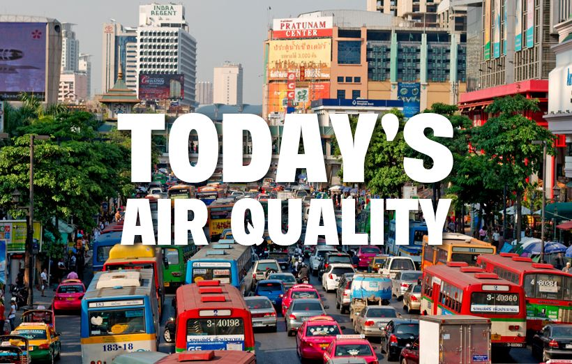 Air quality for Thailand – January 25   The Thaiger