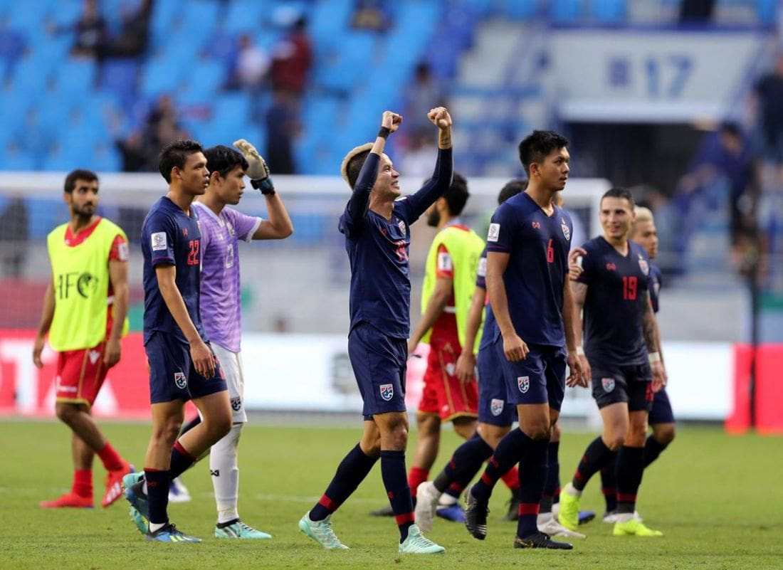 Thailand back on track in the Asian Cup after win over Bahrain | The Thaiger