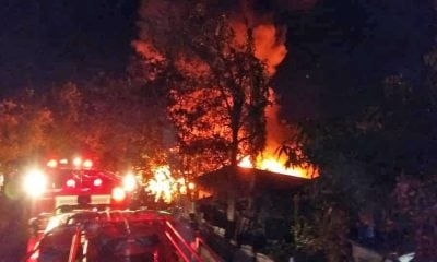 Fire destroys six houses in Wichit, Phuket | The Thaiger