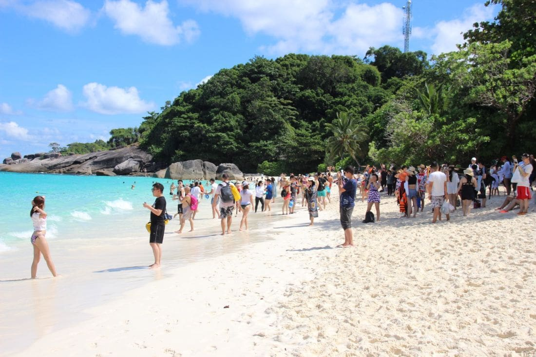 No restriction on tourist numbers visiting Similan Island for three months | The Thaiger