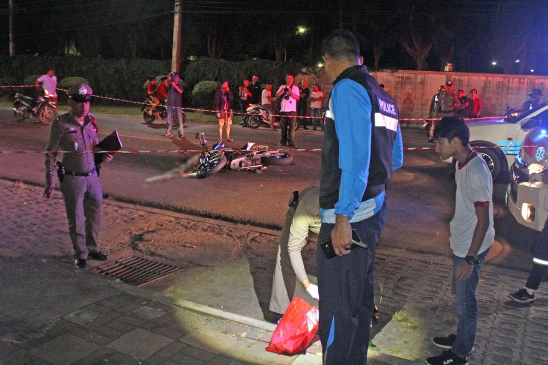 Police searching for the killer after shooting near Saphan Hin | The Thaiger