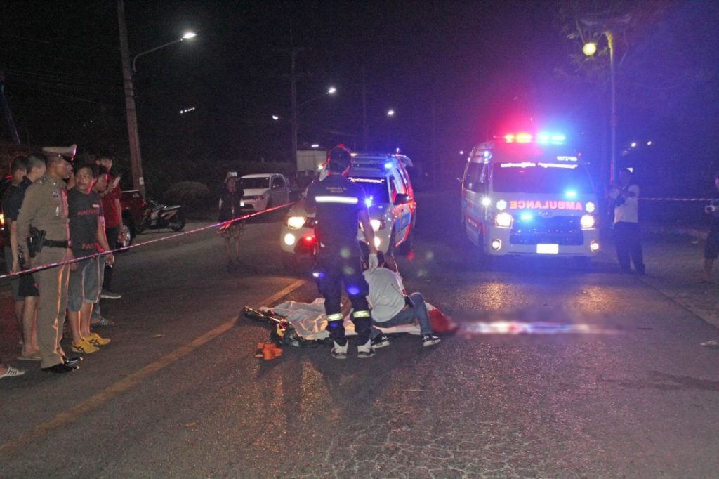 Police searching for the killer after shooting near Saphan Hin | News by The Thaiger