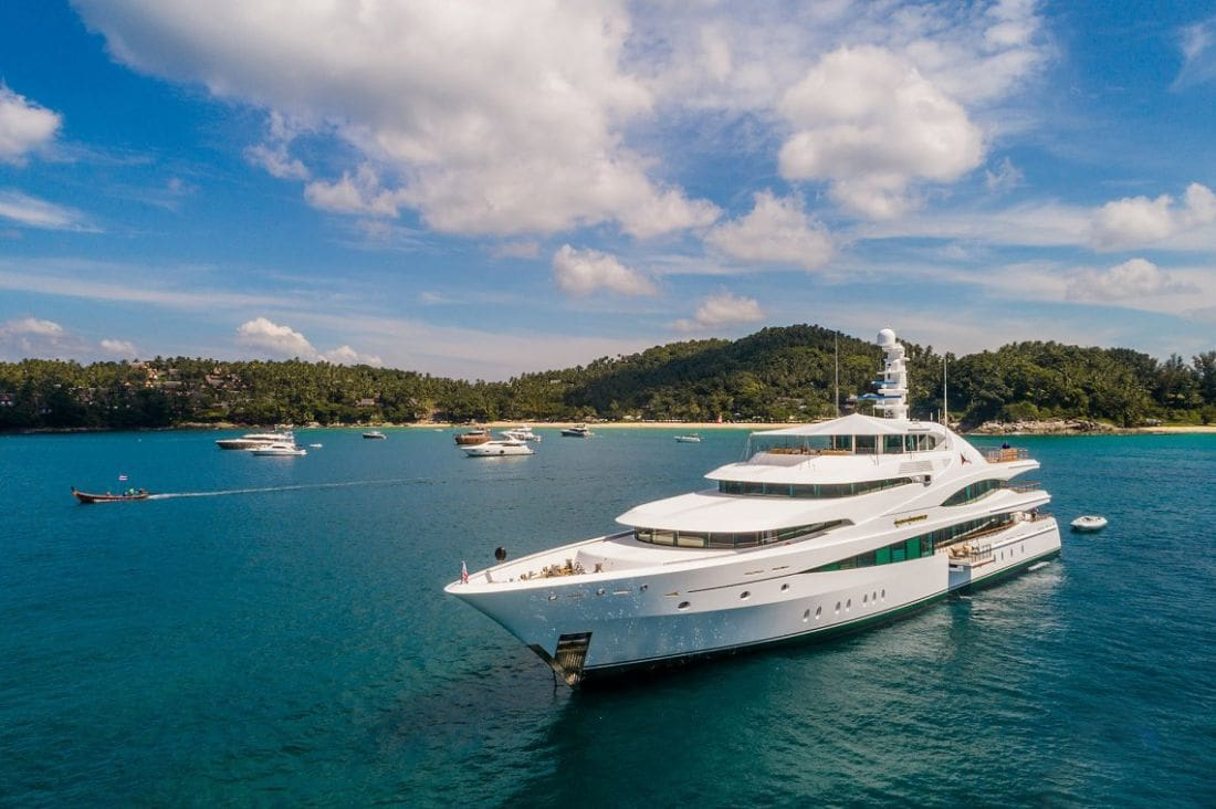 Some restrictions lifted for superyachts in the region | The Thaiger