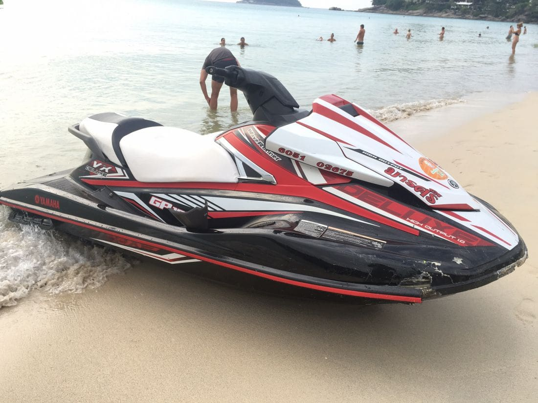 Four Russian tourists fined in Phuket jet-ski accident | News by The Thaiger