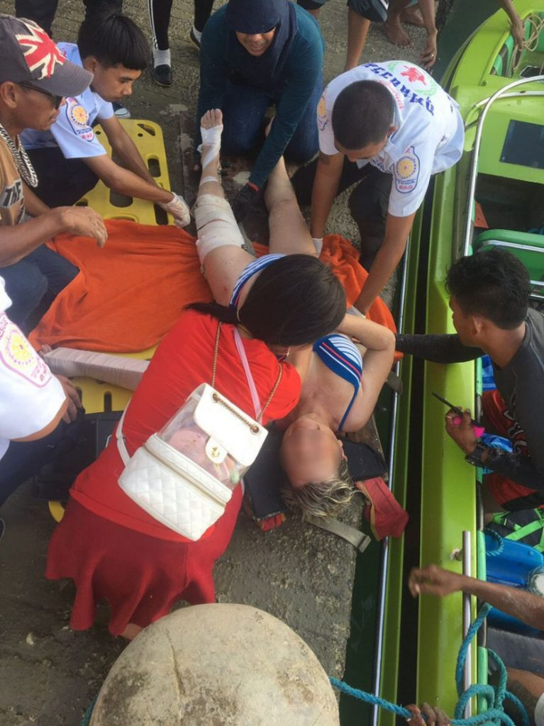French tourist in hospital after parasailing incident at Naka Island in Phuket   News by The Thaiger