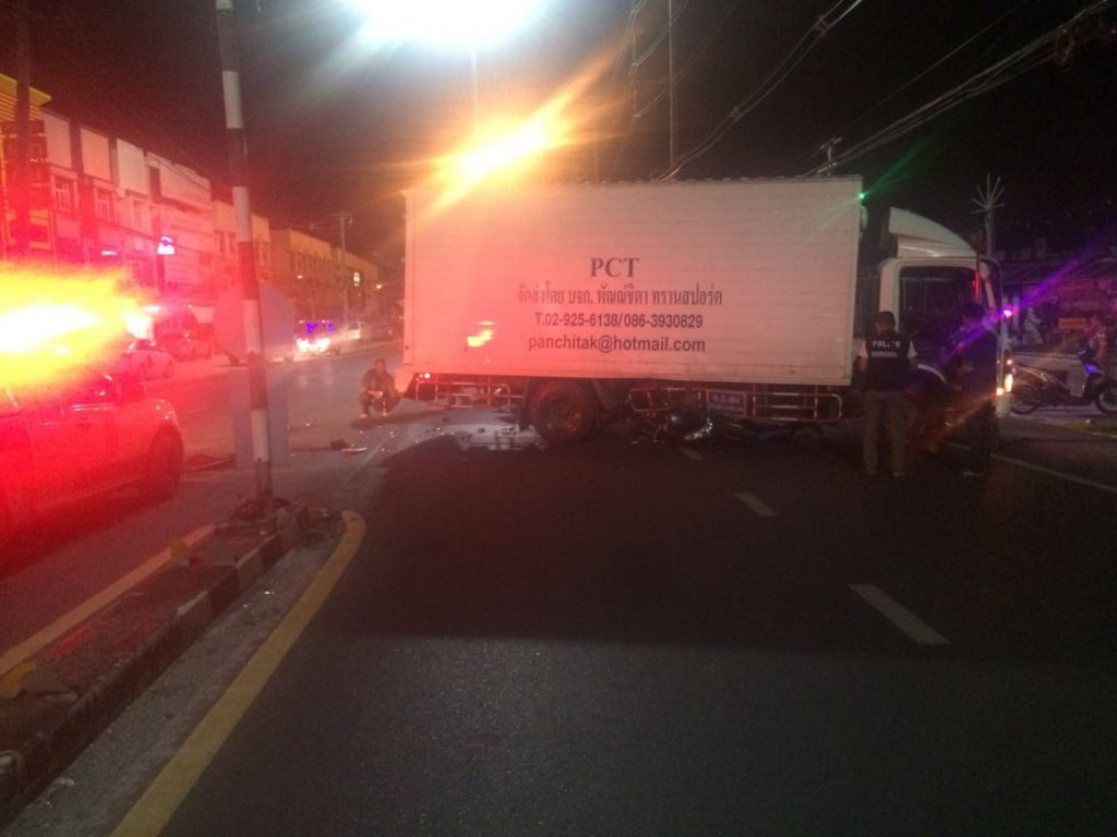Danish tourist dies in Phuket road accident | News by The Thaiger