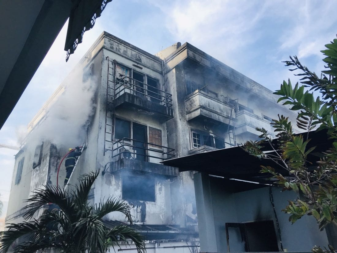 Fire destroys buildings in Phuket Town | News by Thaiger