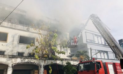 Fire destroys buildings in Phuket Town | The Thaiger