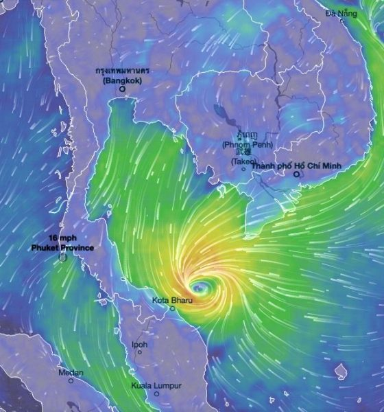 PABUK a tropical storm, not a typhoon | The Thaiger