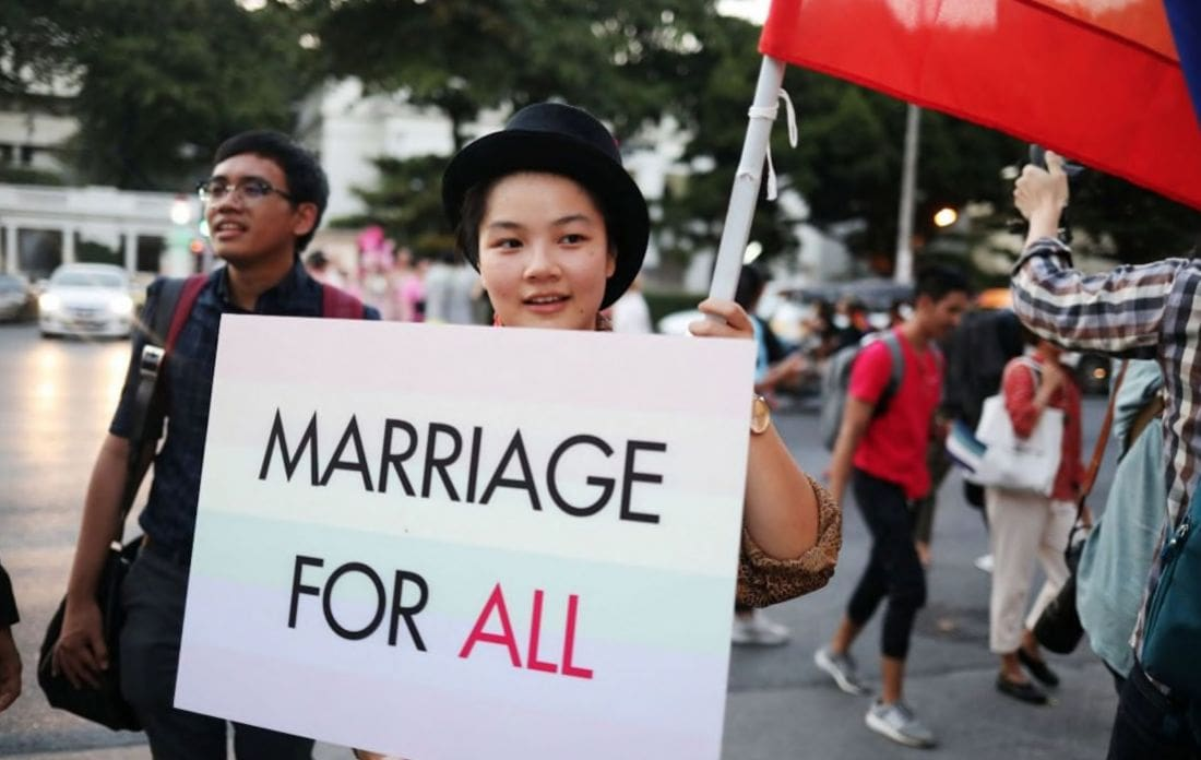 Civil Partnership Bill open for comment before heading to NLA | The Thaiger