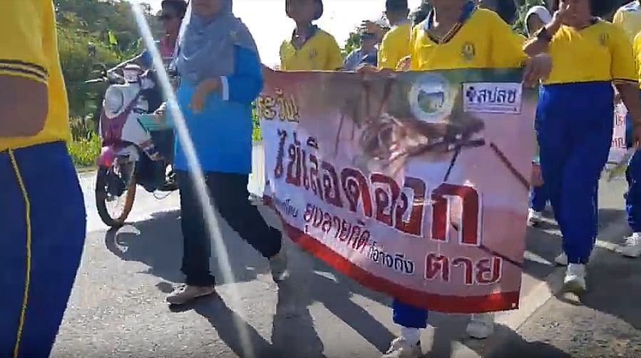 Rawai locals protest against high Dengue rates in southern Phuket | The Thaiger