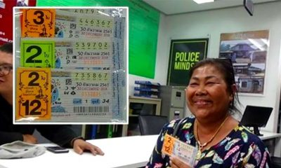 Thai woman, who won lottery in 2017 and donated 2 million baht, wins again | The Thaiger