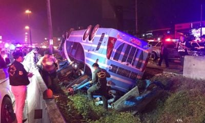 Allegedly negligent bus driver fined 5,000 baht, six dead get 30K compensation | The Thaiger